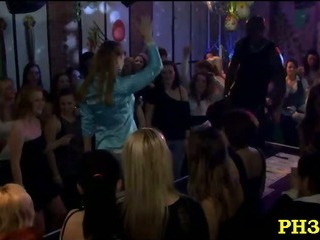 Porn Tube of Tons Of Group Sex On Dance Floor