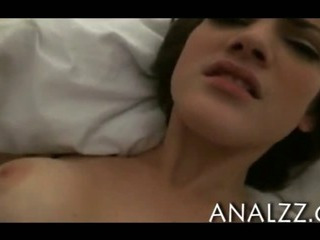 Porno Video of Lingerie Teen Girlfriend First Time Anal Sex And Facial Jizzed