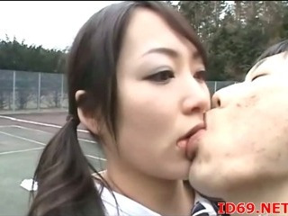 Porno Video of Pal Drills Japanese Chick
