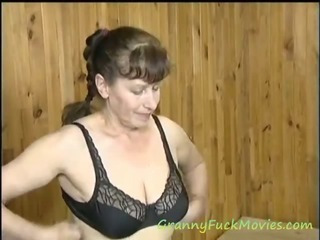 Porno Video of Granny Sue Loves Some Foreplay