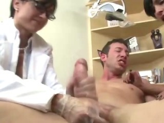 Porn Tube of Two Female Dentists Relief A Patients Pain