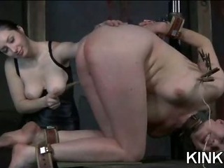 Porno Video of Corsett Bound Babe