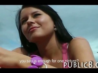 Porno Video of Gorgeous Busty Teen Amateur Public Porno For Alot Of Money