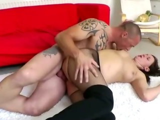 Porno Video of Mature British Lady In Pantyhose Fucked And Jizzed