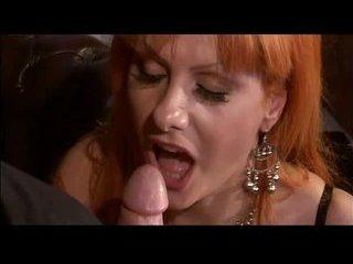 Porno Video of Fat Titty Red Head's Booty Stuffage
