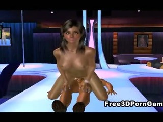 Porno Video of 3d Cartoon Stripper Gets Her Tight Pussy Pounded