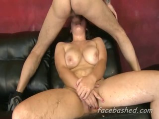 Porno Video of Chubby Teen Extreme Brutal Blowjob And Choking From Dick In Mouth