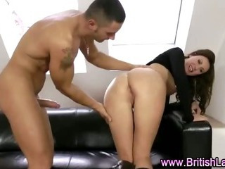 Porn Tube of British Mature With Long Legs Fucked Doggystyle