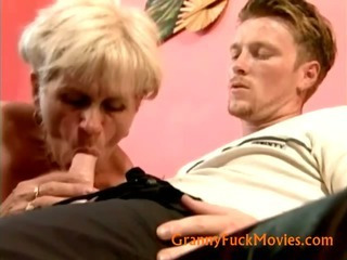 Porno Video of Grandma Ella Fucking Youger Fuck Buddy