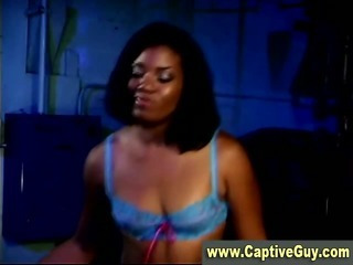 Porno Video of Ebony Queen Femdom Dominatrix Loves Spanking