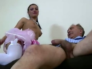 Porno Video of Older Guy Younger Hot Teen Blowjob Fuck