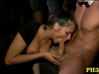 Porn Tube of Tons Of Group Sex On The Dance Floor