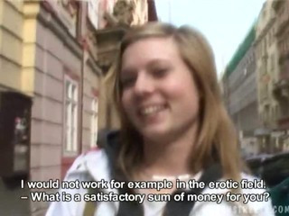 Porn Tube of Czech Streets - Julie