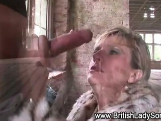 Porn Tube of British Whore Takes Cock