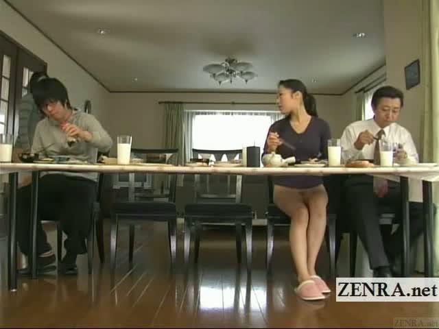 Japanese group orgasm study video