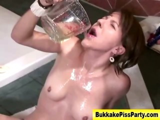 Porno Video of Watersports Fetish Slut Ass Fuck Piss Shower