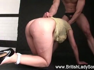 Porno Video of Mature Bound Brit Lady Sonia Fuck And Cumshot