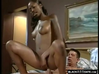 Porn Tube of African Model In A Sexy Interracial Hardcore
