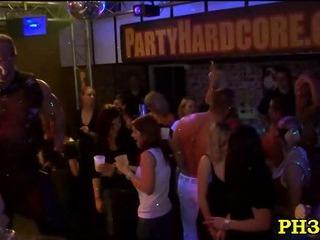 Porn Tube of Wild Fuck Allover The Night Club