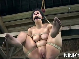 Sex Movie of Wild Nose Bondage Shot
