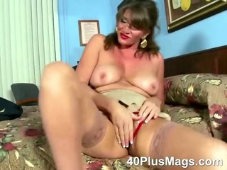 Porn Tube of See This Extreme Hot Mature Brunette