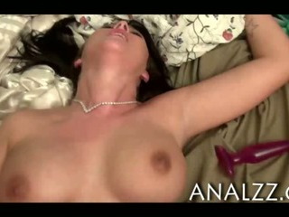 Porno Video of Massive Boobs Babe First Time Anal Sex And Facialed At Home