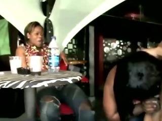 Porno Video of Real Amateur Cfnm Sluts Suck Stripper Cock