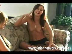 Sexy smoking females