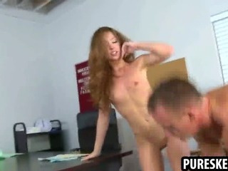 Porno Video of Petite Brunette Schoolgirl Getting Fucked Hard