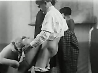 Porno Video of Retro School Porn