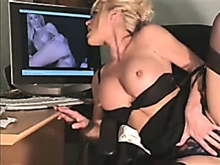 Porn Tube of Really Hot Sexy Secretary