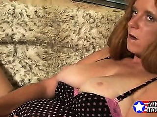 Porn Tube of Busty American Housewife