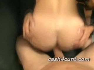 Porno Video of Tight Babes Ass Fucked In Threeway With Brunette Helping The Big Cock Inside