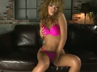 Porno Video of Rumika In Hot Pink Shows Off Her Big Nipples