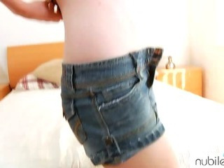 Porno Video of Petite Redhead Pussy Pounding