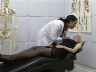 Porn Tube of Doctor Sluts Get To Work Curing Patient With A Good Amount Of Cock