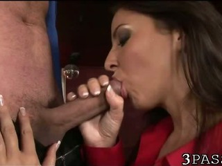 Porn Tube of Gal In Nylons Ass Fucked