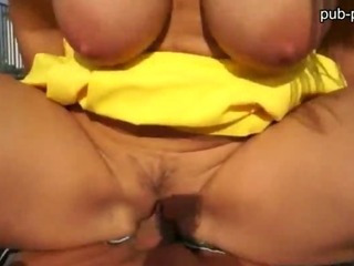 Porn Tube of Big Tits Amateur Gets Paid And Has Sex In Public
