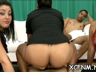 Porn Tube of See Exciting Cfnm Scene