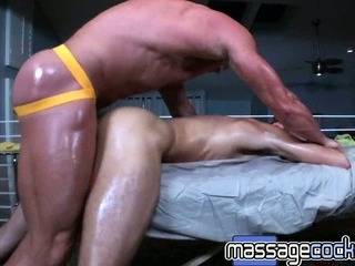 Porno Video of Massagecocks Hard Anal Massage
