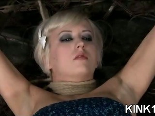 Porn Tube of Hot Babe Bent And Fucked