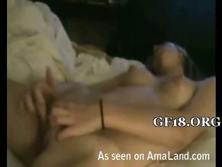 Porno Video of Beauty Masturbates On Cam