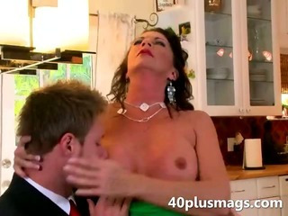 Porn Tube of Nasty Mom Seduces A Younger Guy