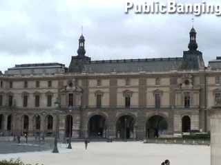 Porno Video of Louvre Museum In Paris Public Group Sex Street Threesome Of French Kings Tuilerie Gardens Awesome