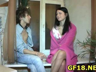 Porn Tube of Perverted Spectacled Guy Holds Hand