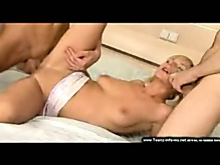 Porn Tube of Russian Threesome Mmf