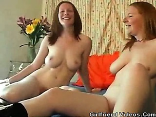 Porno Video of 2 British Redheads Have Fun