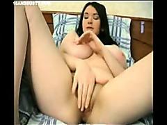 18&Busty - Anita masturbation