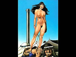 Porn Tube of Classic Female Bondage Artworks