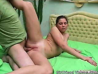 Porno Video of Flexible Teen Fucking & Anal
